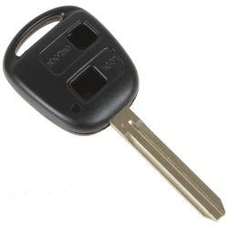 TOYOTA 2 gombos kulcsház TOY43