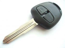 MITSUBISHI 2 gombos kulcsház JOBBOS