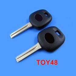 Toyota kulcs TOY48 Rövid szár