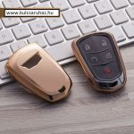 Cadillac : ATS / CTS / XTS / Escalade - SMART - Kulcsvédő Tok ARANY