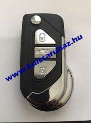 Citroen DS 3 gombos ház HU83 kulcsszárral
