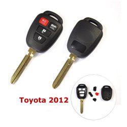 Toyota 4 gombos KULCSHÁZ  2012-es modell