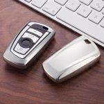 BMW : F Széria - Smart - Kulcsvédő Tok EZÜST