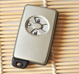 toyota 3 gombos smart kulcs ház