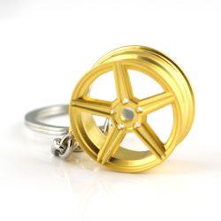 Felni arany színű kulcstartó