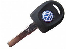 Volkwagen kulcsház, fénnyel
