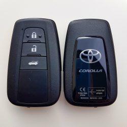 Toyota : Corolla - 3 gombos 433 mhz ID67 H _ BT2EW