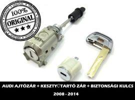AUDI zárszett + biztonsági kulcs típus-1