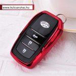 Toyota : Land Cruiser / Hilux / Camry / Fortuner - SMART - Kulcsvédő Tok Piros