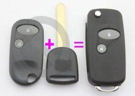 Honda bicskakulcs átalakító 2 gombos