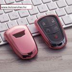 Cadillac : ATS / CTS / XTS / Escalade - SMART - Kulcsvédő Tok RÓZSASZÍN / PINK
