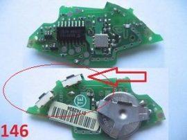 Oldal felfogatású mikrokapcsoló (Citroen/Peugeot)