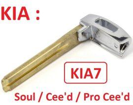 KIA : Soul / Ceed / Pro Ceed - Szervizkulcs _ KIA7