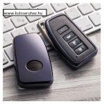 Lexus : NX / IS / ES / GS / GX / RC / RX / LS / LX - SMART - Kulcsvédő Tok FEKETE