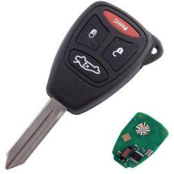 Chrysler / Dodge / Jeep - 3 + 1 gomb 315 mhz ID46