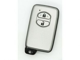 TOYOTA Auris Prius Verso Yaris 2 gombos smart kulcsház