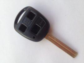 TOYOTA 3 gombos kulcsház hosszú szárral TOY48