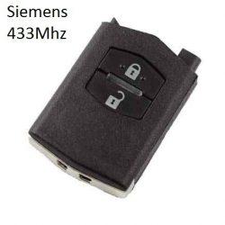 Mazda 2 gombos távirányító (GYÁRI MAZDA) Siemens