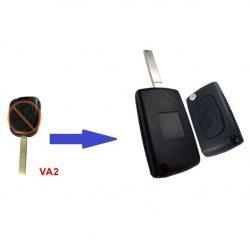 Peugeot bicskakulcs átalakító VA2