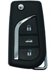 Toyota : Aygo / Avensis - 3 gombos Kulcsház _ VA2