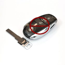 VW touareg biztonsági kulcs