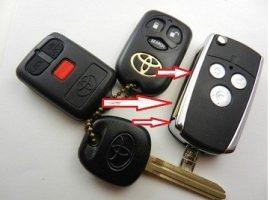 Toyota corolla bicskakulcs átalakító