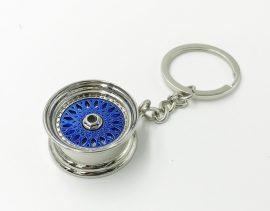 Felni BBS kék kulcstartó