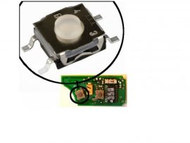 Mikrokapcsoló 4 érintkezős