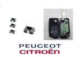 Peugeot Citroen 4 érintkezős mikrokapcsoló