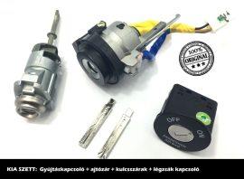 KIA zárszett + kulcsszár típus-1