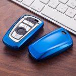 BMW : F Széria - Smart - Kulcsvédő Tok KÉK