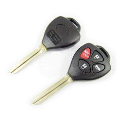 Toyota 4 gombos kulcsház