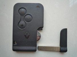 Renault Megane Scenic 3 gombos távirányító/kulcs kártya