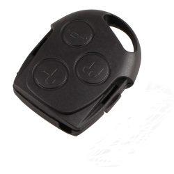 FORD 3 gombos fekete kulcsház