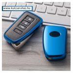 Lexus : NX / IS / ES / GS / GX / RC / RX / LS / LX - SMART - Kulcsvédő Tok KÉK