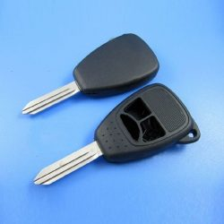 Jeep 3 gombos kulcsház