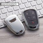 Cadillac : ATS / CTS / XTS / Escalade - SMART - Kulcsvédő Tok EZÜST