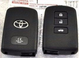 Toyota RAV4 - 3 gombos 433 mhz ID74 H BA7EQ