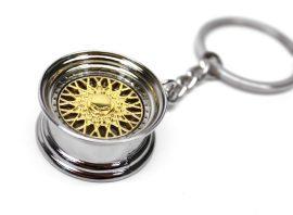Felni BBS arany színű kulcstartó