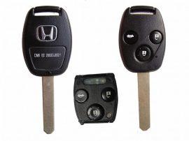 Honda 3 gombos kulcs ACCORD,CRV 433MHZ ID48