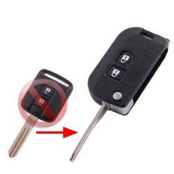 Nissan  bicskakulcs átalakító NSN14 kulcsszárral (újabb)