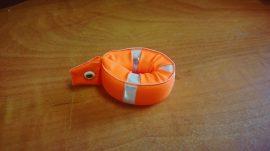 Kulcstartó Mentőöv 6cm (Merülésgátló szivacs, Neon narancs színben)