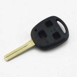 TOYOTA 3 gombos kulcsház rövid szárral TOY48
