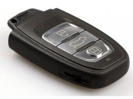 Audi : A4 / A5 / A6 / A7 / S4 / S6 / S8 / RS4 / RS6 / Q5 / SQ5 - 3 gombos Kulcsház