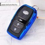 Toyota : Land Cruiser / Hilux / Camry / Fortuner - SMART - Kulcsvédő Tok Kék