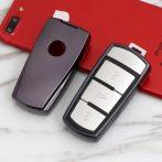Volkswagen ( VW ) : Passat / Passat CC /  - Smart - Kulcsvédő Tok FEKETE