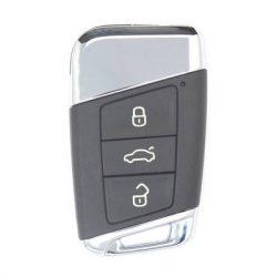 Volkswagen ( VW ) / Skoda : Passat / Kodiaq / Superb - 3 gombos Kulcsház