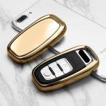 Audi : Smart - Kulcsvédő Tok ARANY