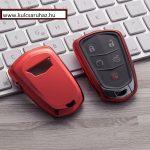 Cadillac : ATS / CTS / XTS / Escalade - SMART - Kulcsvédő Tok PIROS