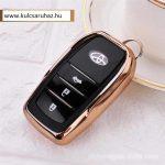 Toyota : Land Cruiser / Hilux / Camry / Fortuner - SMART - Kulcsvédő Tok ARANY